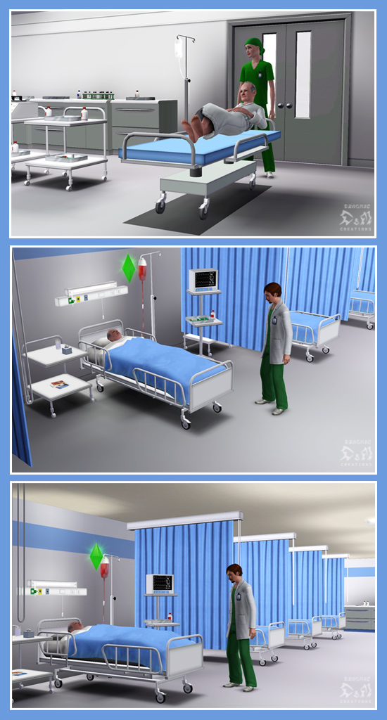 Mod The Sims Request Hospital Set