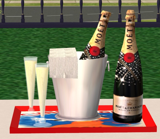 Mod The Sims Updated 12 30 3 Meshes Of My Champagne