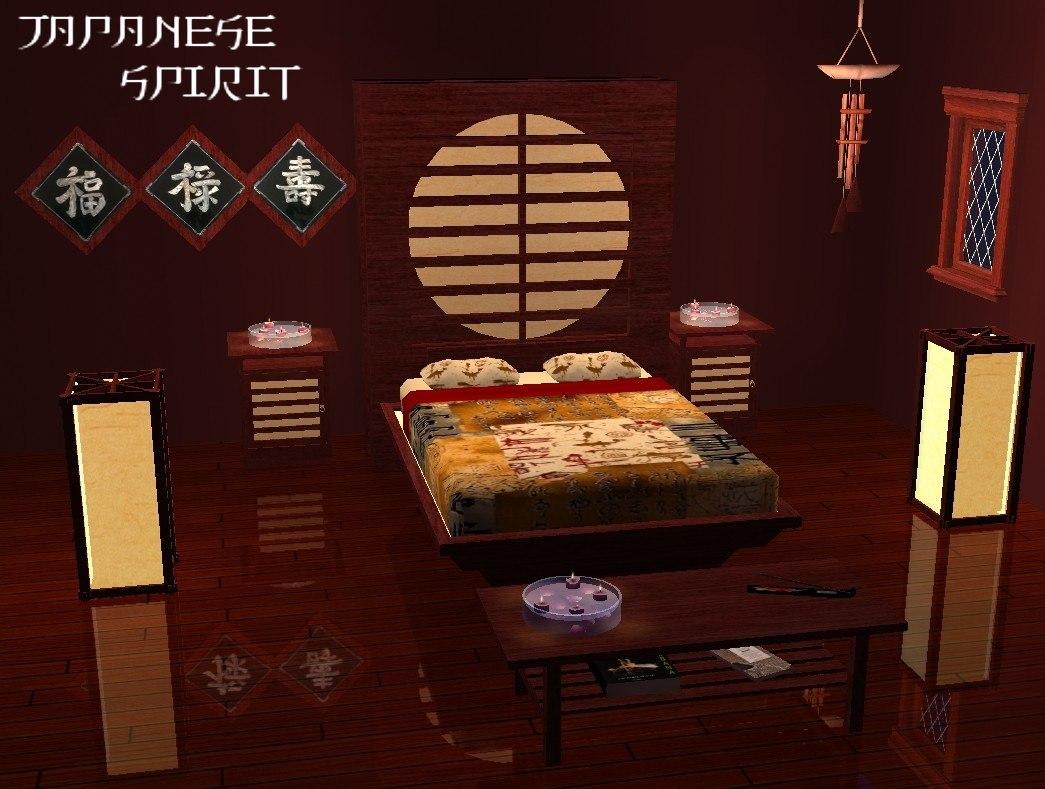 Bedroom Set Japanese Style