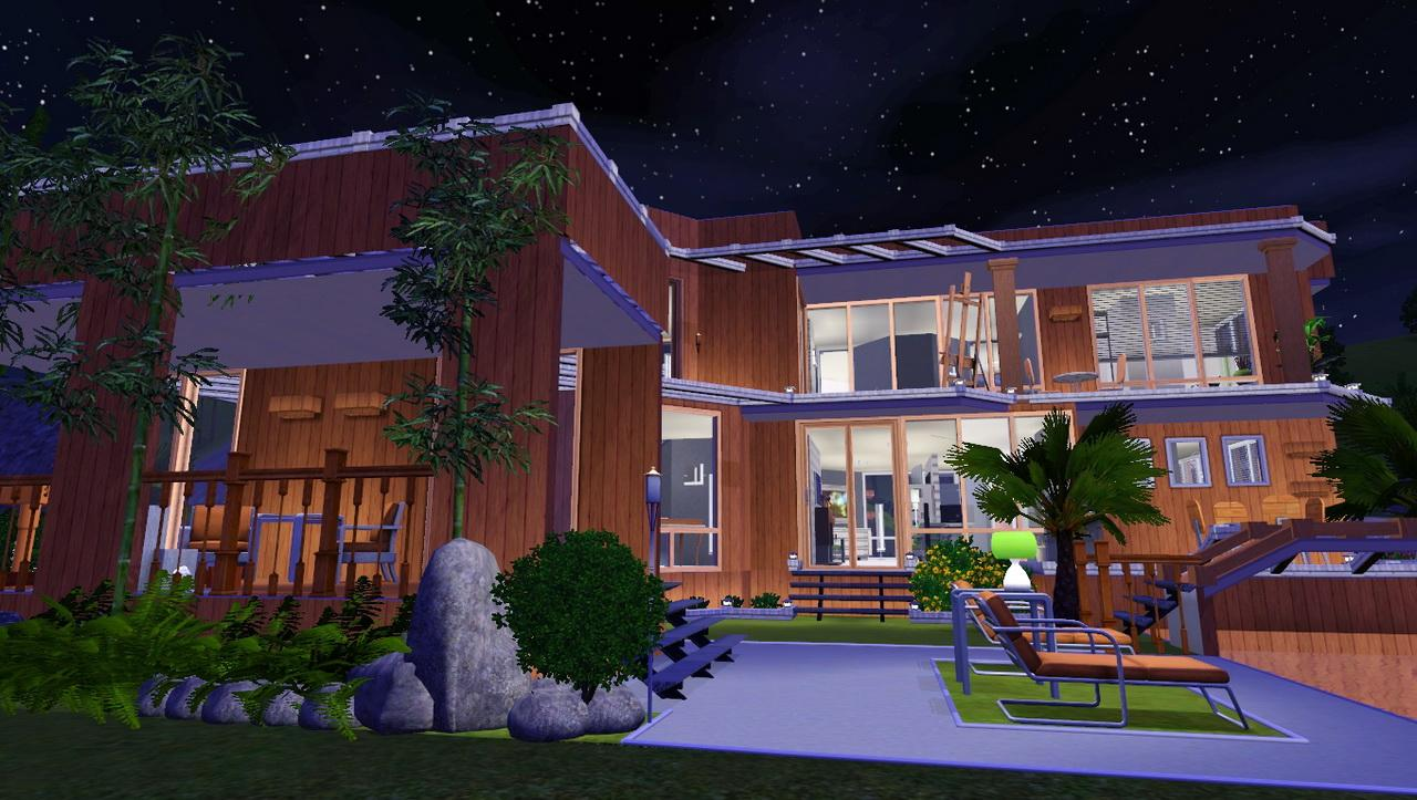 Mod the sims eclectica for Sims 3 6 bedroom house