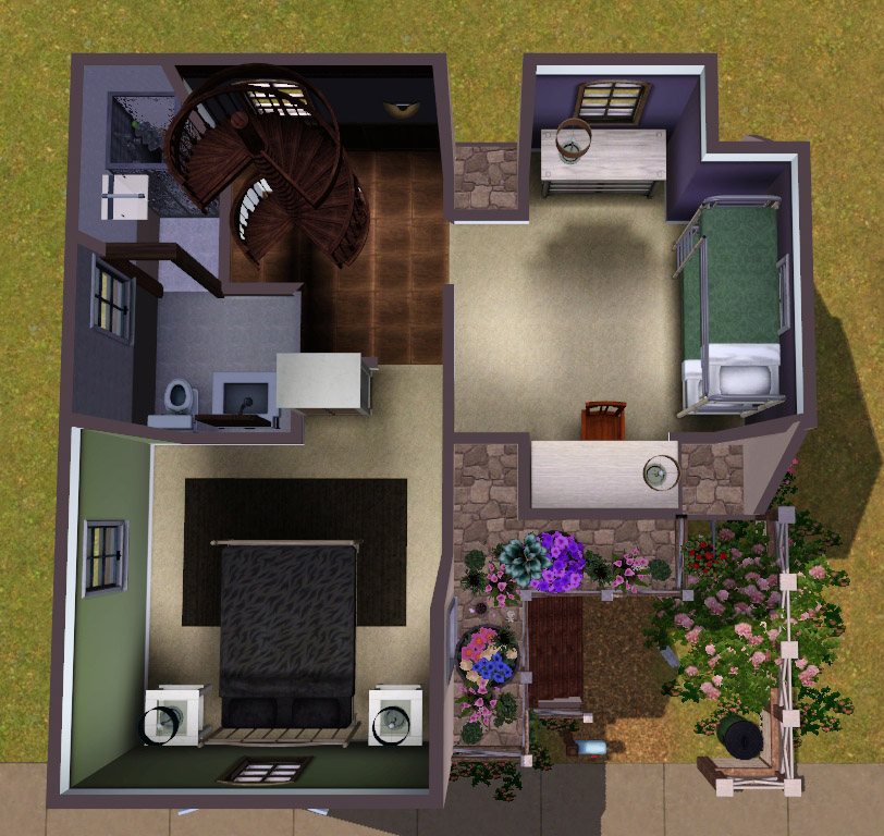 10x10 French Vacation Home (no Cc
