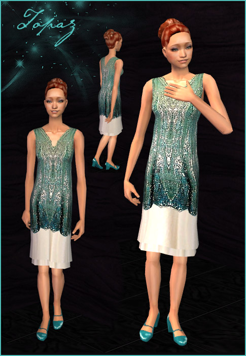 Sims 4 prom dress 8th