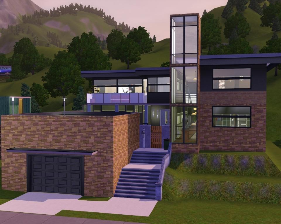 Mod the sims sandstone perch for Classic house sims 3