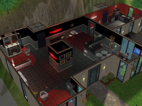 Mod The Sims Modern 2 Bedroom Home