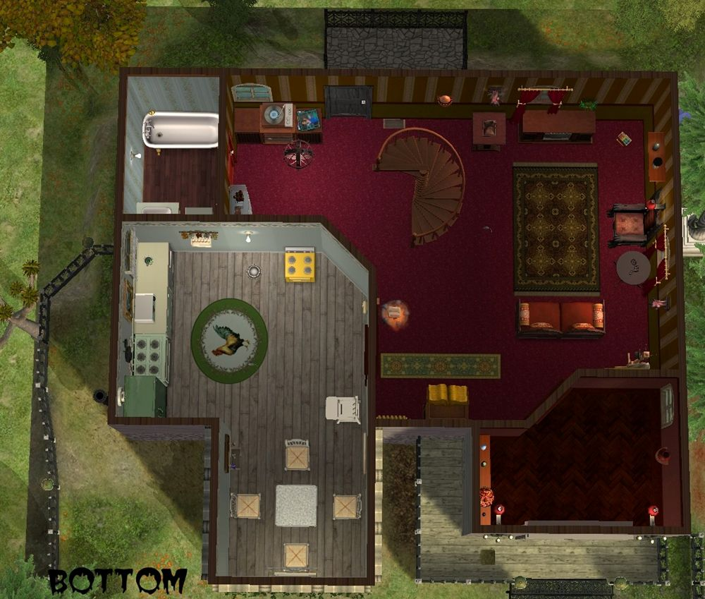 Mod the sims spooky old house for Classic house sims 3