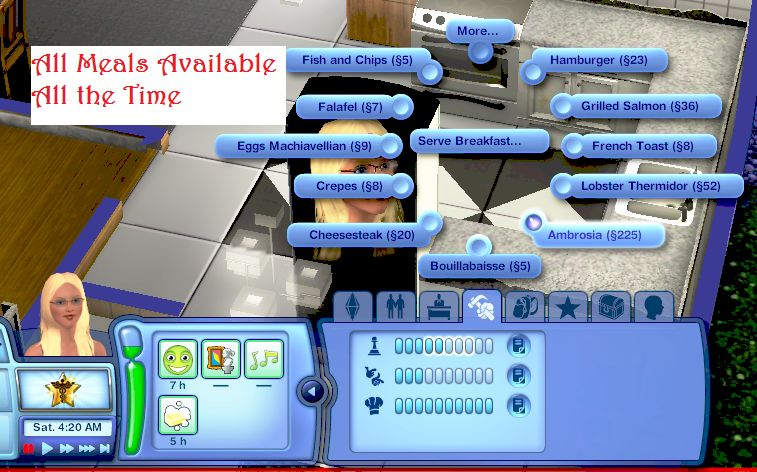 How do you make ambrosia on sims 3