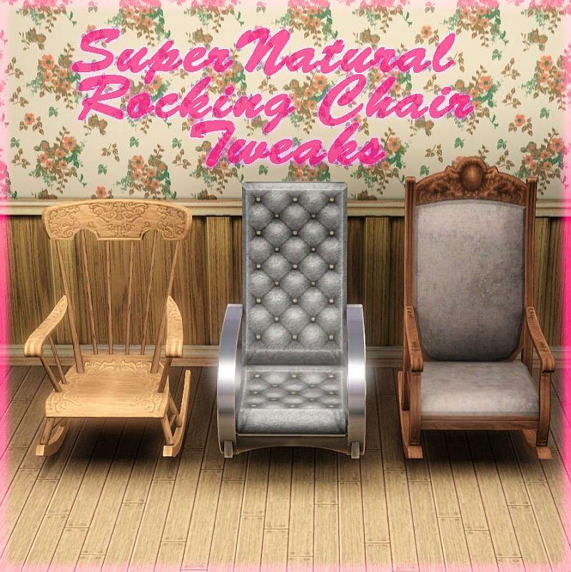 Pleasant Mod The Sims Supernatural Rocking Chair Tweaks Lamtechconsult Wood Chair Design Ideas Lamtechconsultcom