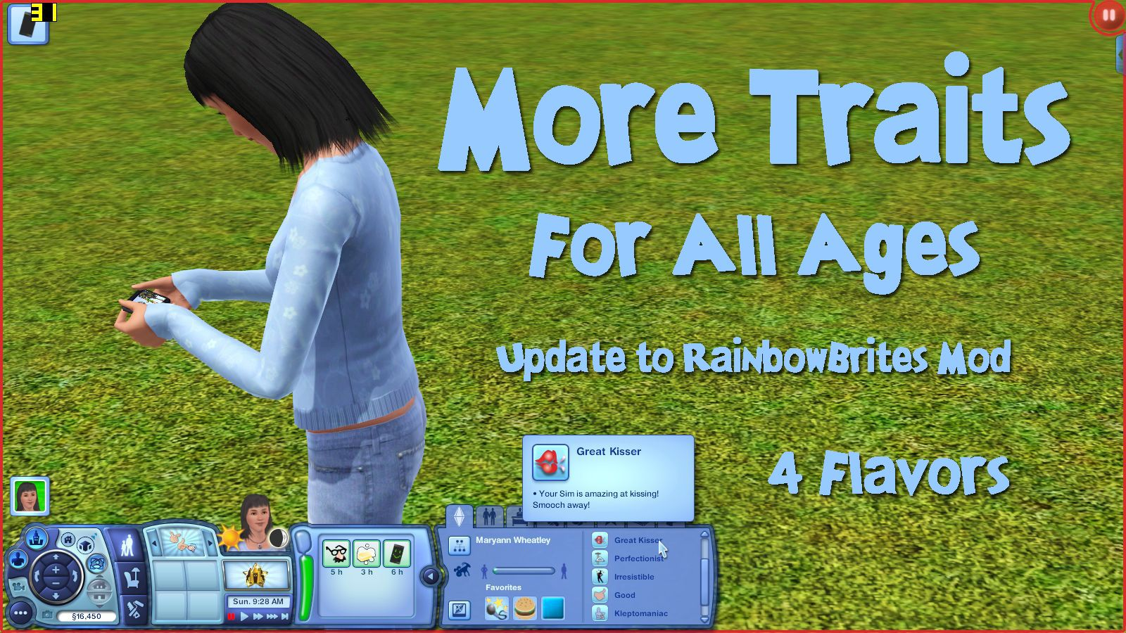 Mod The Sims - More Traits for All Ages