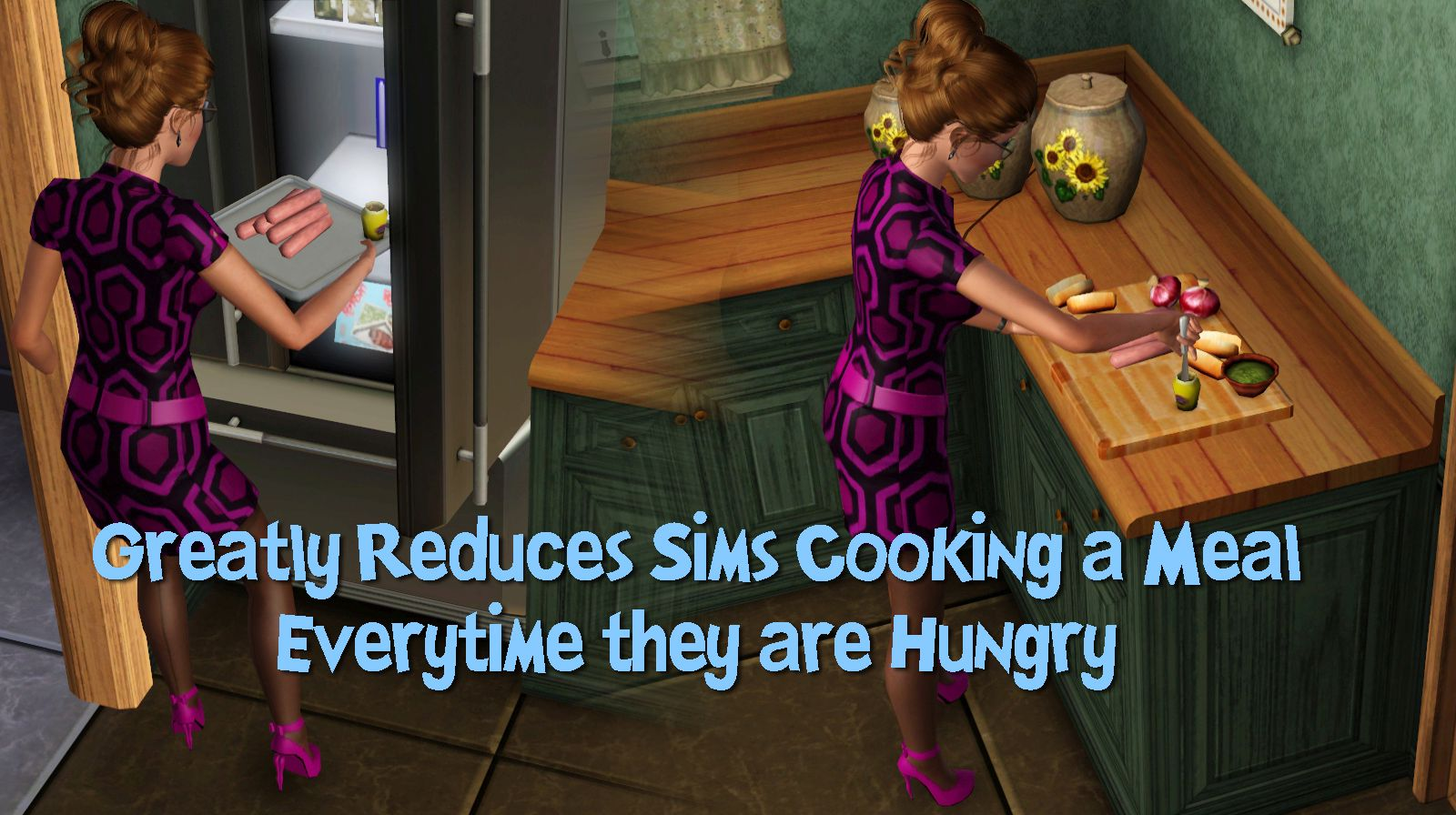 Mod The Sims - Eat & Put Away Your Leftovers