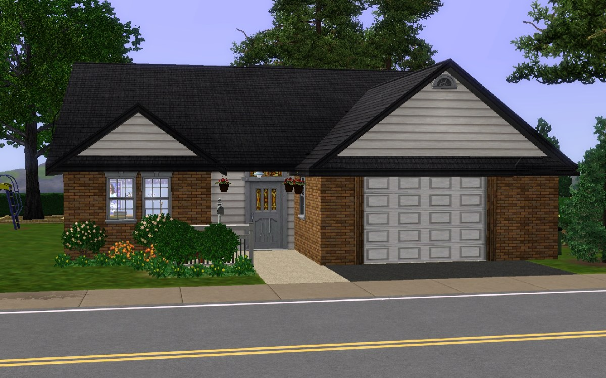 Mod the sims redwood parkway for 25x30 house plans