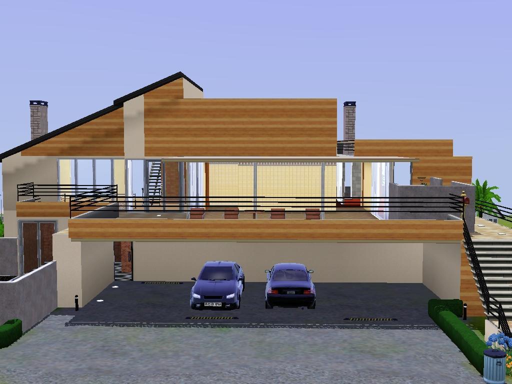Mod The Sims Palo Alto Modern Minimalist