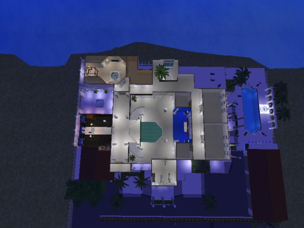 Mod The Sims Scarface Mansion