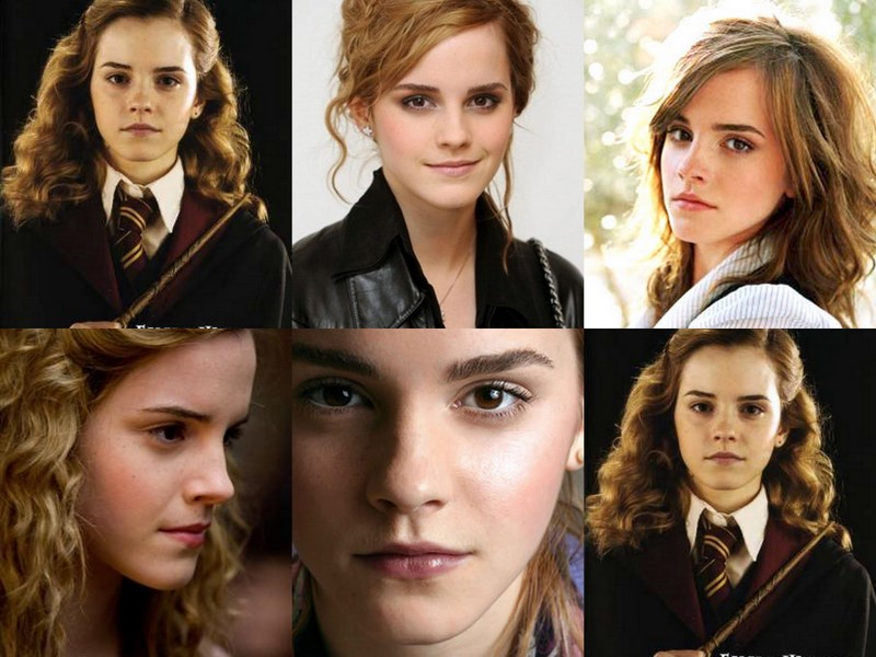 watson as hermione granger Emma
