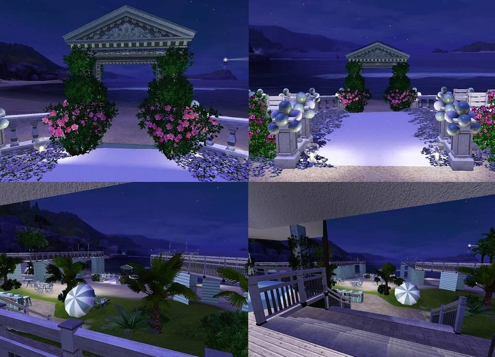 Mod The Sims The Pier Weddingparty Venue