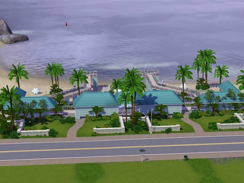 Mod The Sims - The Pier - Wedding/Party Venue