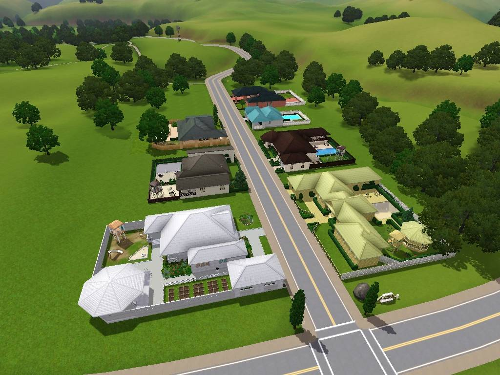 Mod The Sims Suburban Series Riverview 7 Lots