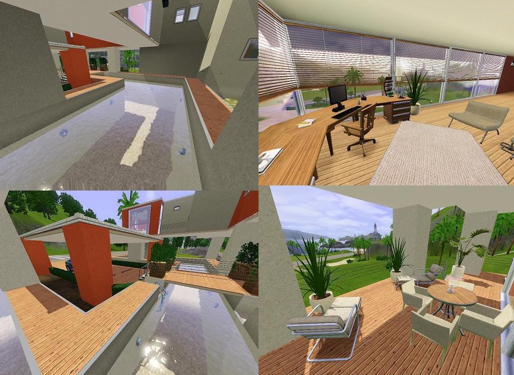 Mod The Sims Modern Stilt House