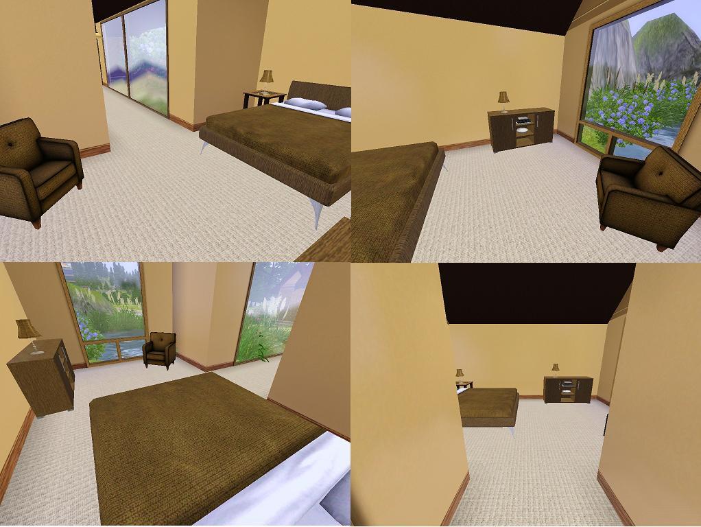 Mod the sims simini sim mini starter home for Sims 3 6 bedroom house
