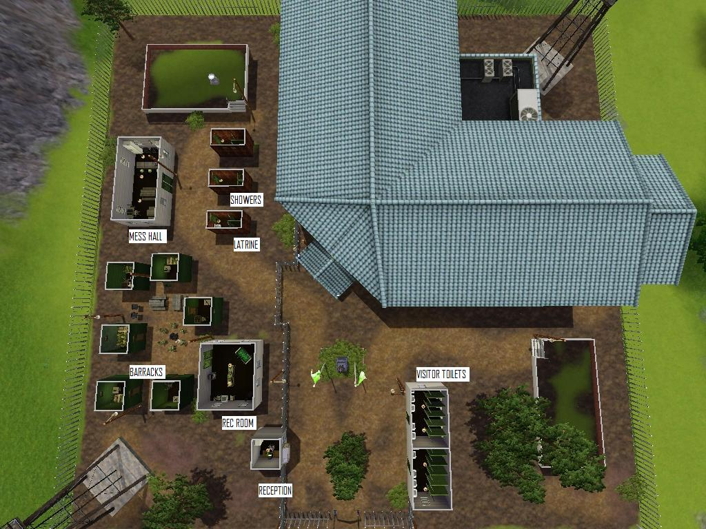 Mod The Sims - Sunset Valley Military Base