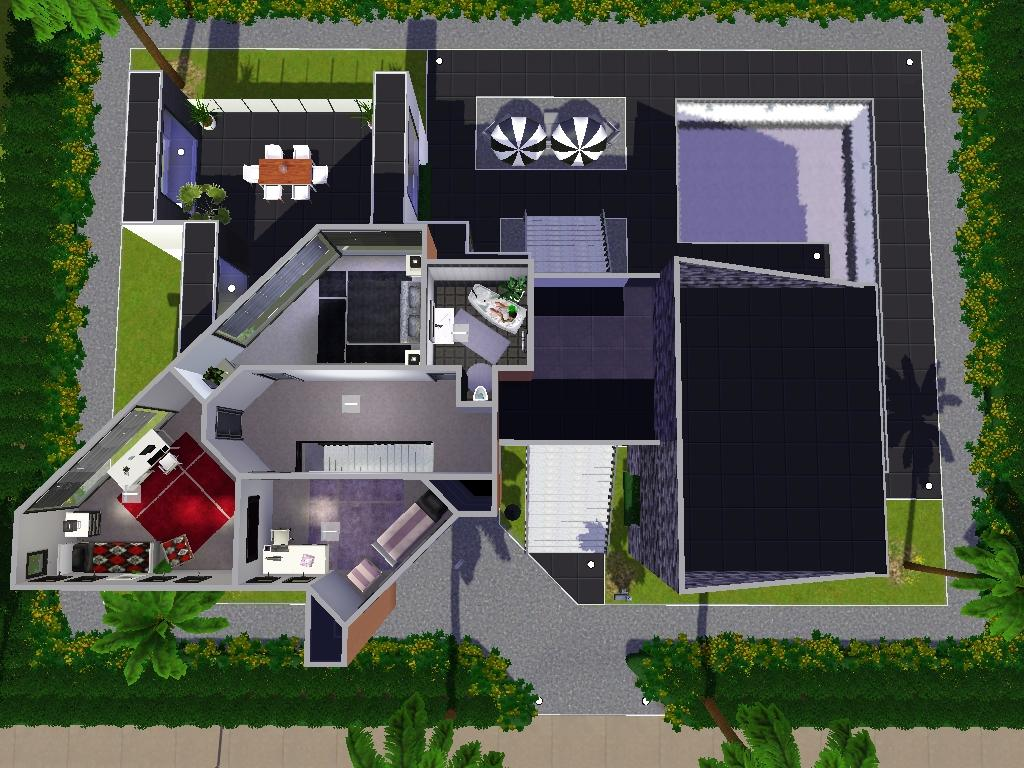 House plans and design modern house plans sims 4 for Best house designs sims 3