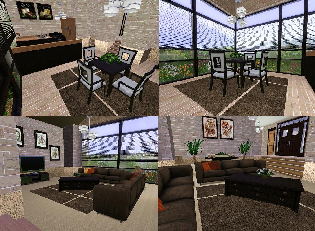 Sims 3 House Interior Design Home Design Ideas