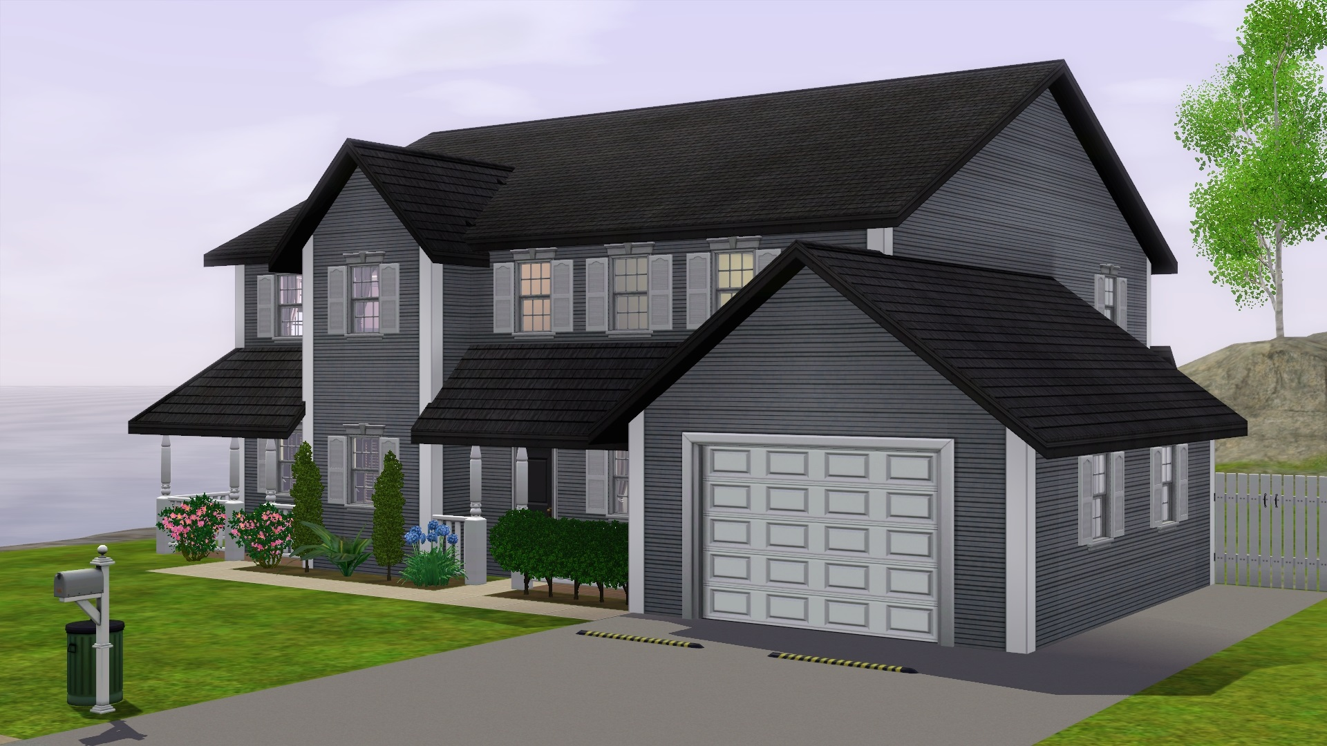 Fourth Upload This Time Around A Neo Colonial Suburban House These Are Stereotypically Found In North Eastern United States But Variations Exist All Over