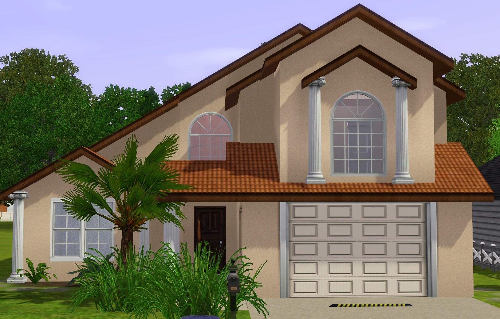 Mod The Sims Medium Sized Suburban Home