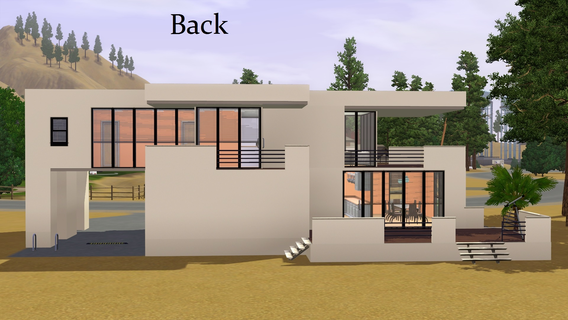 Mod The Sims Contemporary House