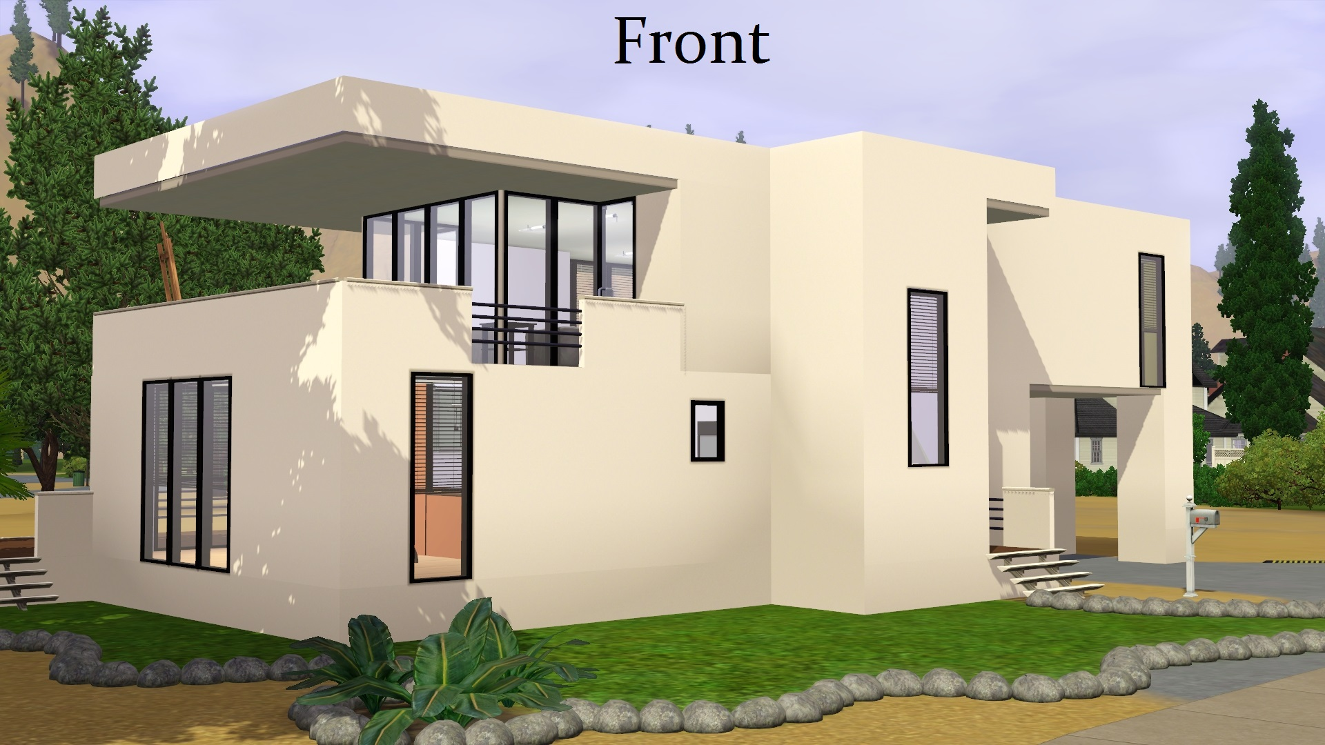 Mod the sims contemporary house for Modern house 8 part 10