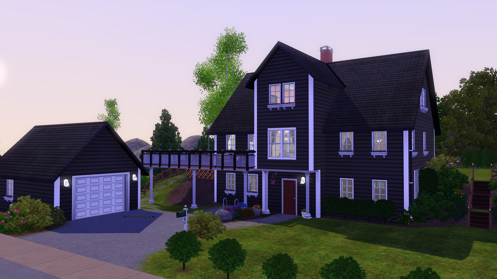 Mod the sims norwegian house for Www house