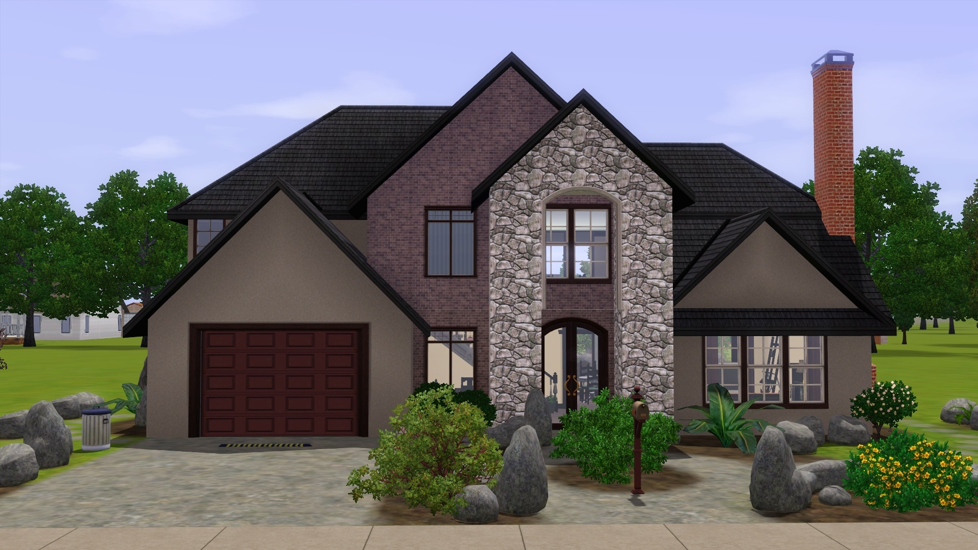 Mod the sims utah luxury house for House 4