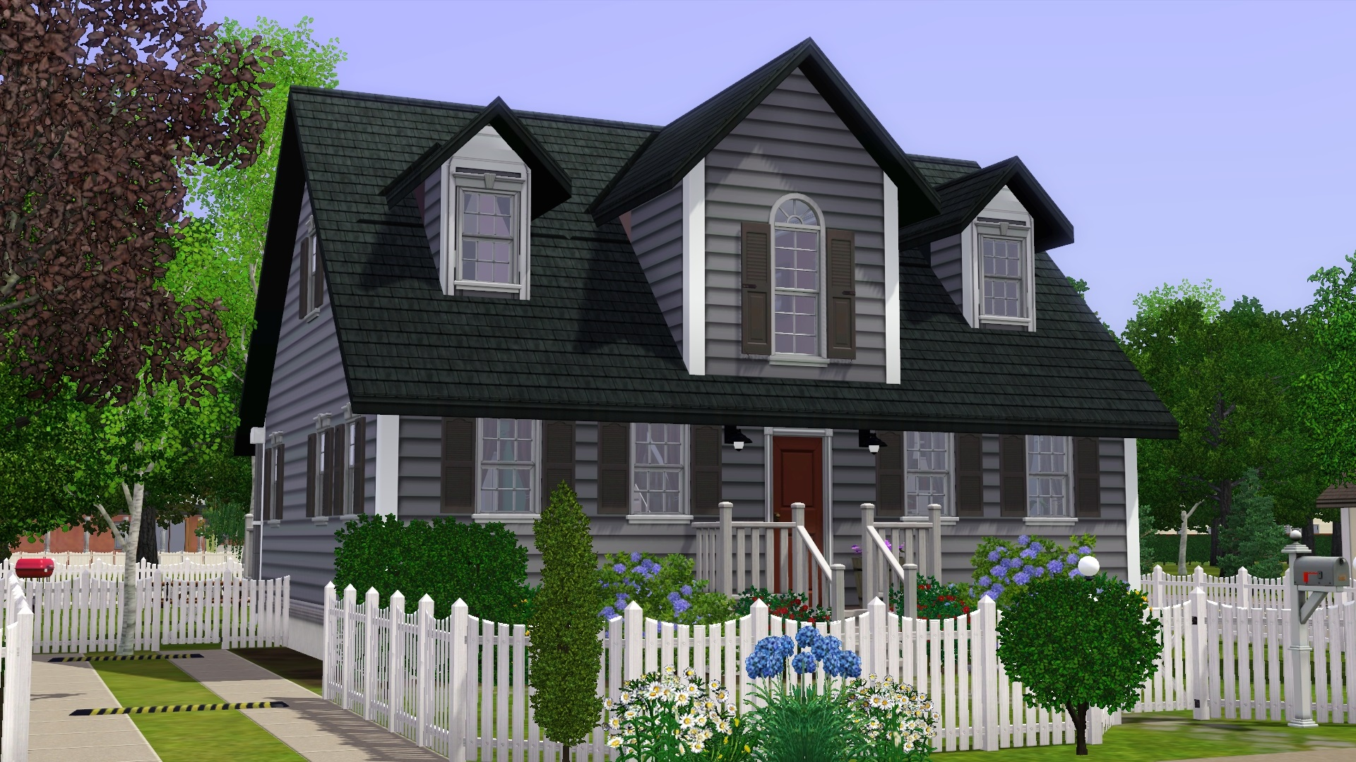 Mod the sims cape cod for The cape house