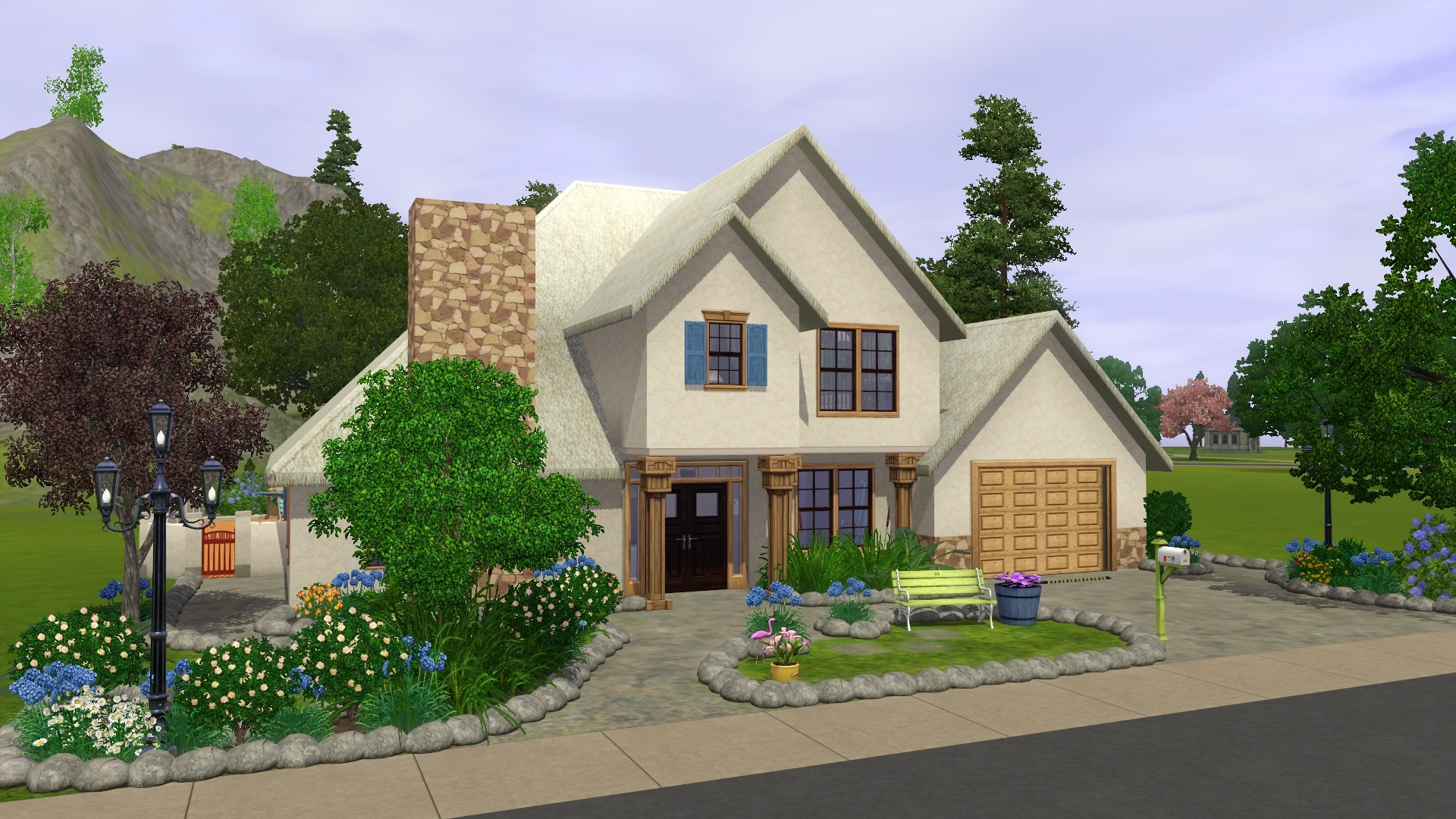 Mod the sims frenchy for American house plans with photos