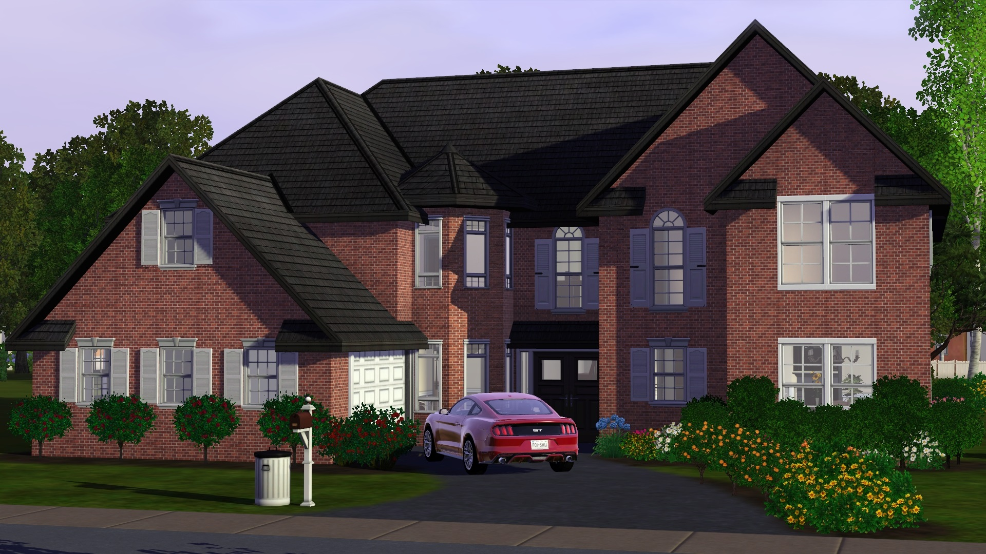 Mod the sims houston for Big family house