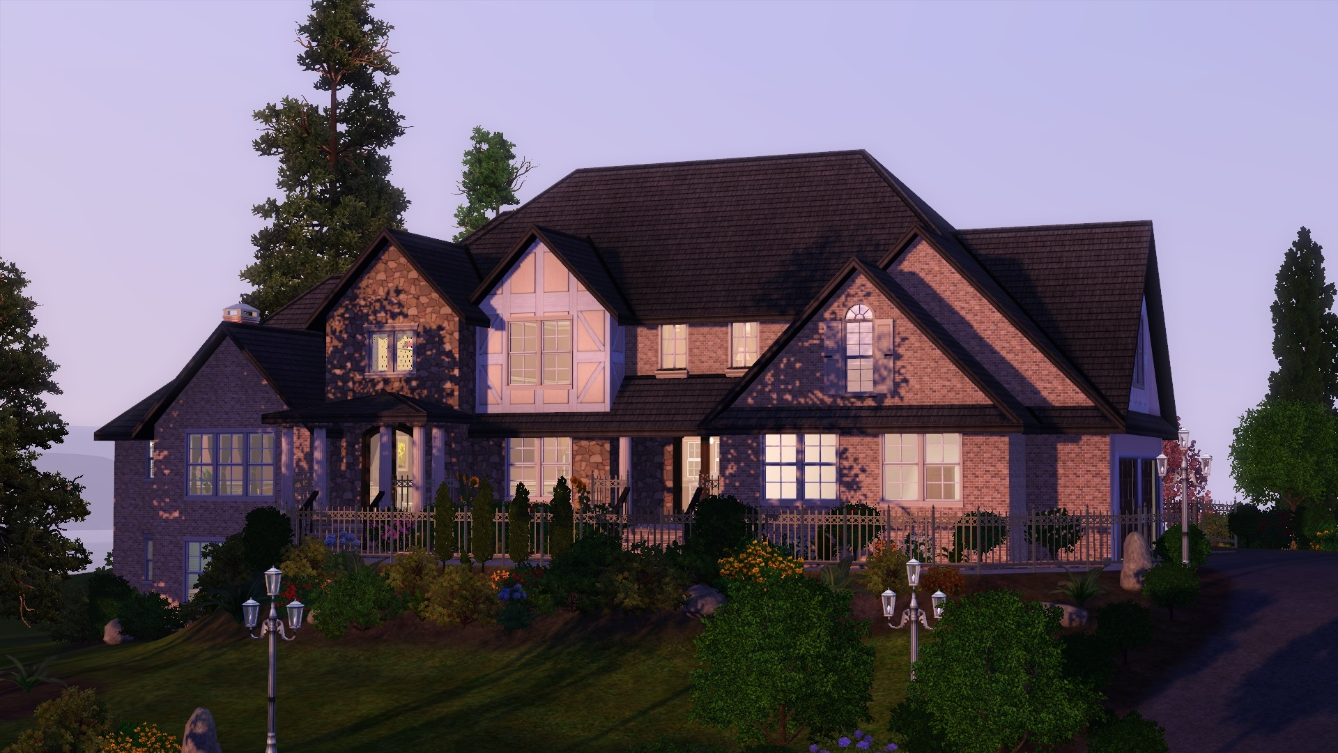 Totally sims 3 updates the legacy home no cc for Legacy house