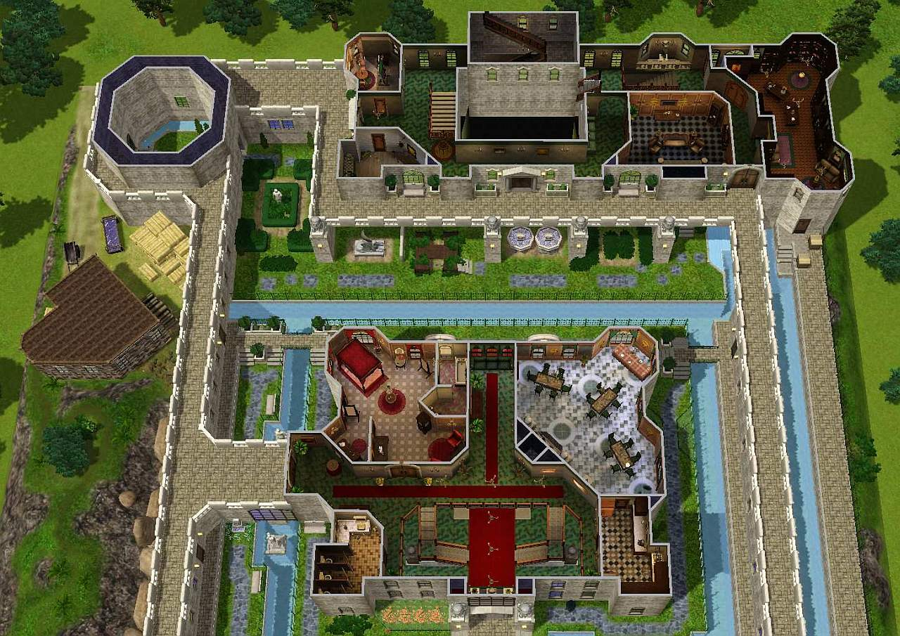 Mod The Sims - Zelda Castle (inspired by Ocarina of Time)
