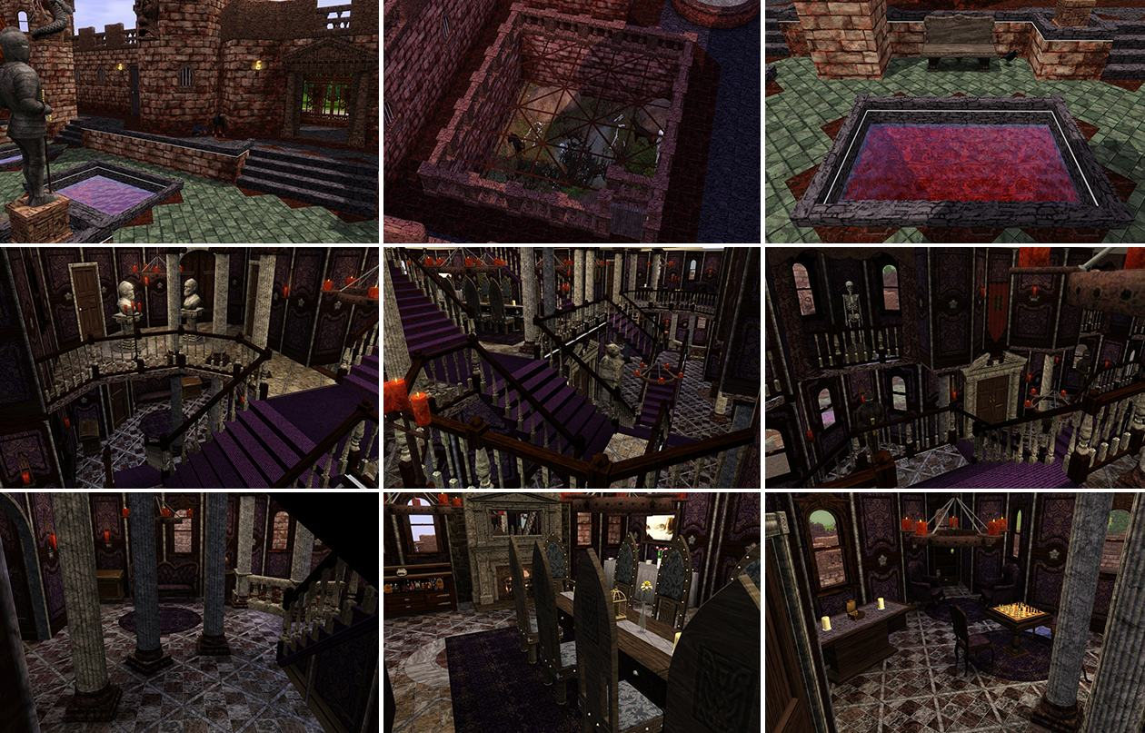 The Sims 3 House Floor Plans Mod The Sims Flesh And Bones The Vampire Castle