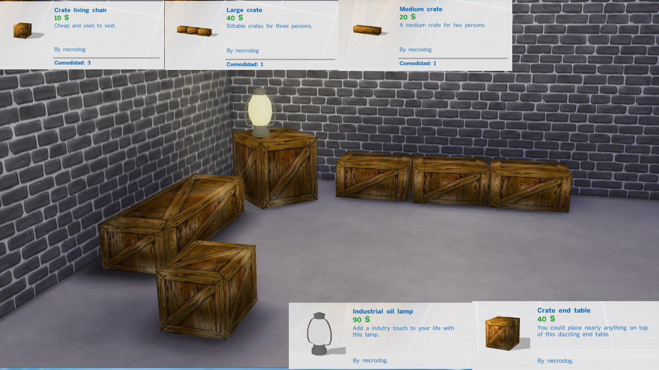 Mod The Sims Necro S Industrial Set