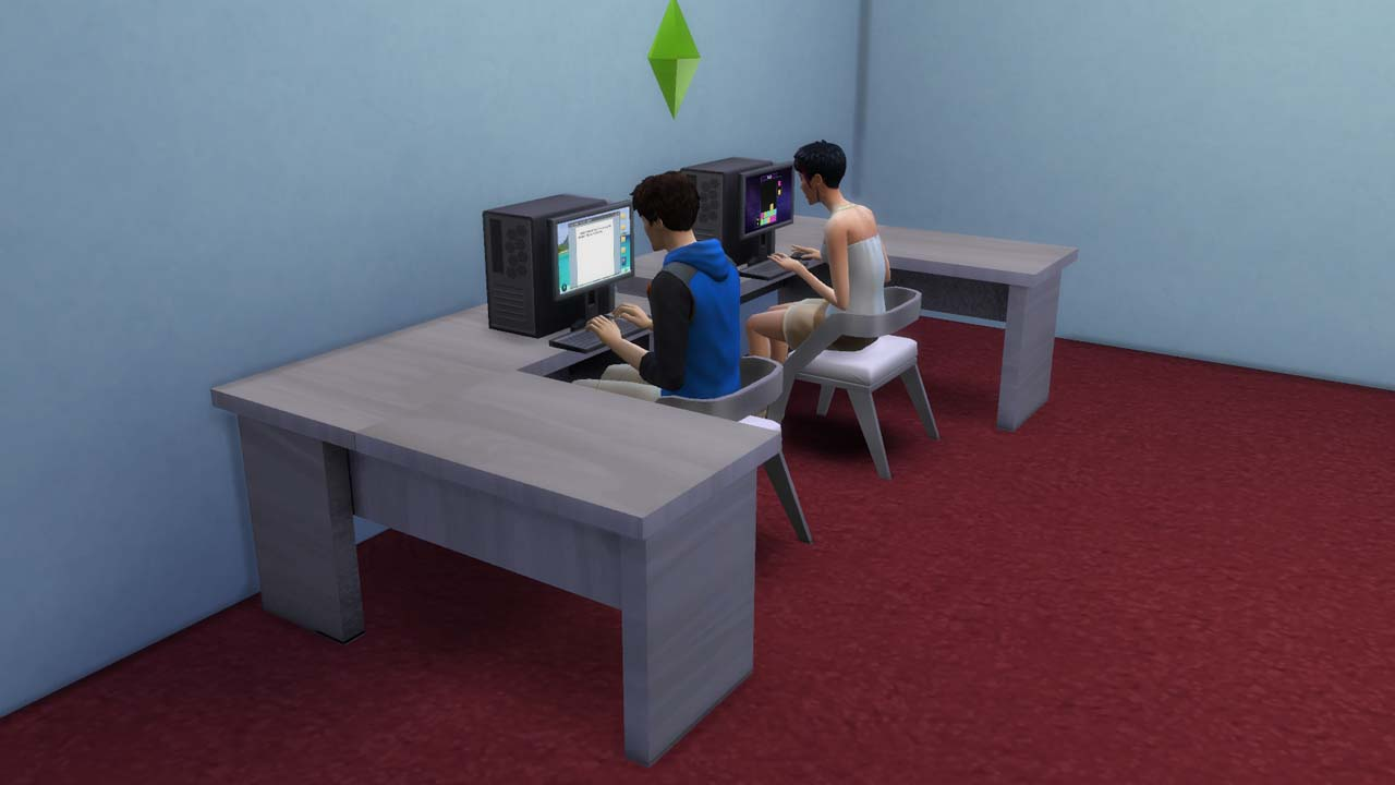 I managed to fix the problem with the sims dont using the computer if you click on the computer and select and action now its fixed