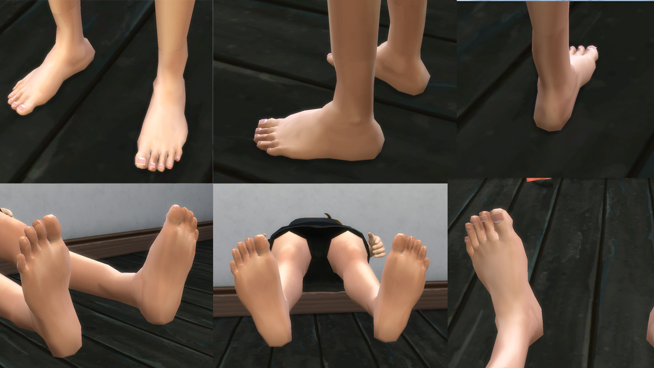 Mod the sims hd feet for all i have finished this cas set for you to improve the feet of the sims some people suggest it voltagebd Image collections