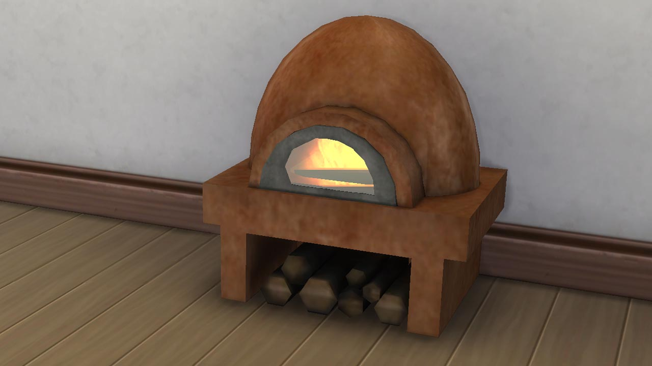 Mod The Sims - Rustic Clay oven. 29-9-2018 Update Seasons ...