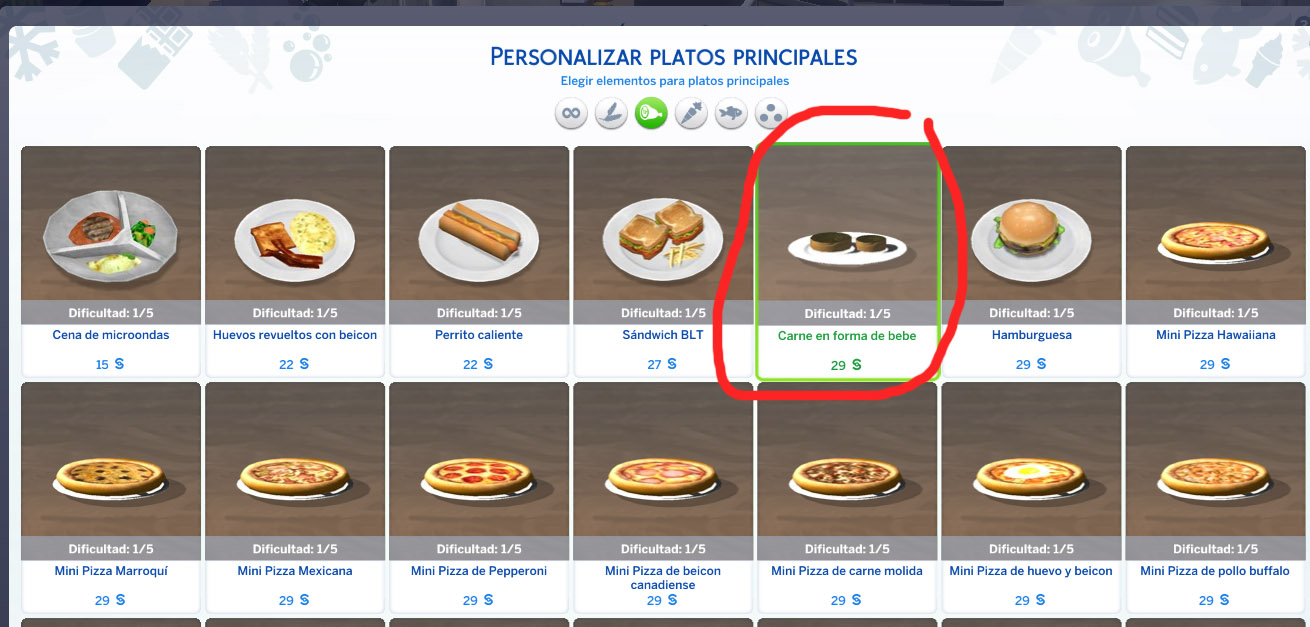 Mod the sims round charcoal grill with recipes update 15 4 17 fixed baby recipe now the baby meat appears in restaurants at the main course and need level one of cooking at home instead of level 3 please re download forumfinder Gallery