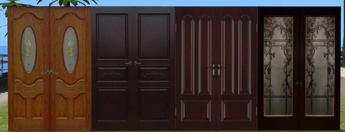 Mod The Sims Closet Doors Wallpaper