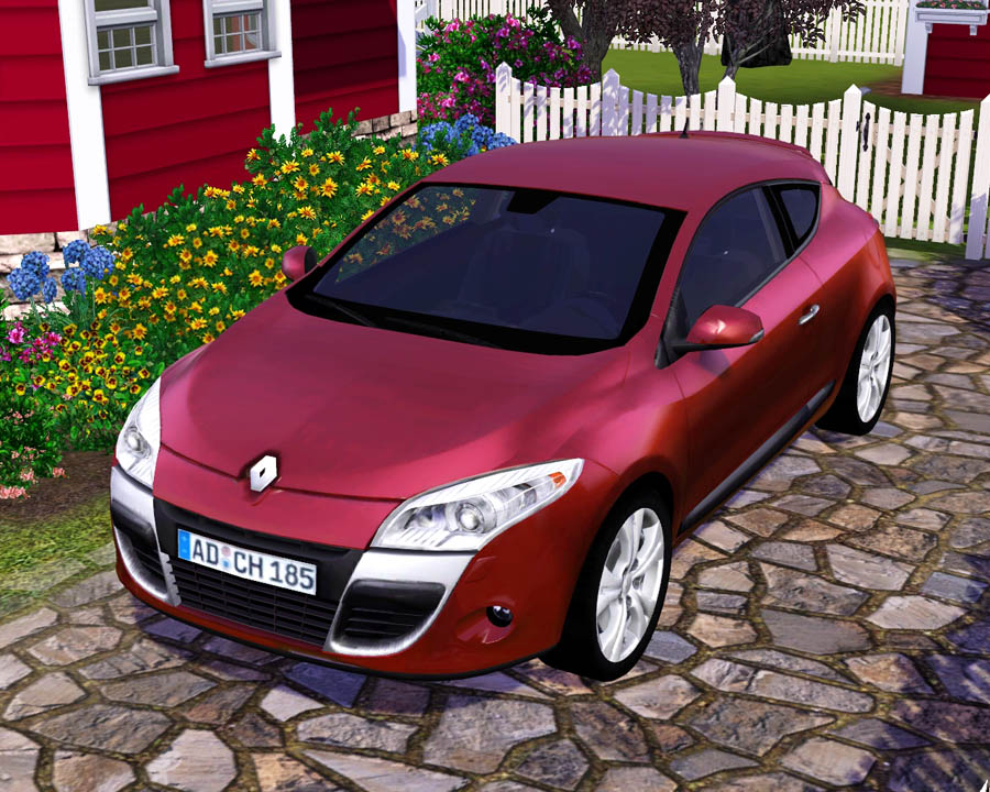 Mod The Sims - 2009 Renault Mégane Coupe