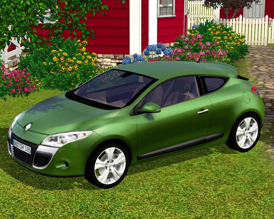 Mod the sims 2009 renault m gane coupe - Renault megane 2009 coupe ...