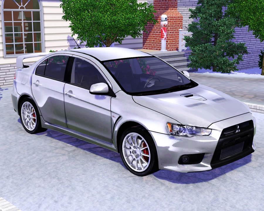 Mod The Sims 2008 Mitsubishi Lancer Evolution