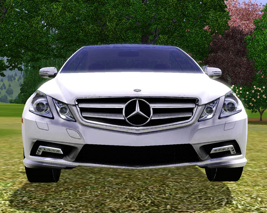 Mod the sims 2010 mercedes benz e550 coupe for Mercedes benz e550 coupe