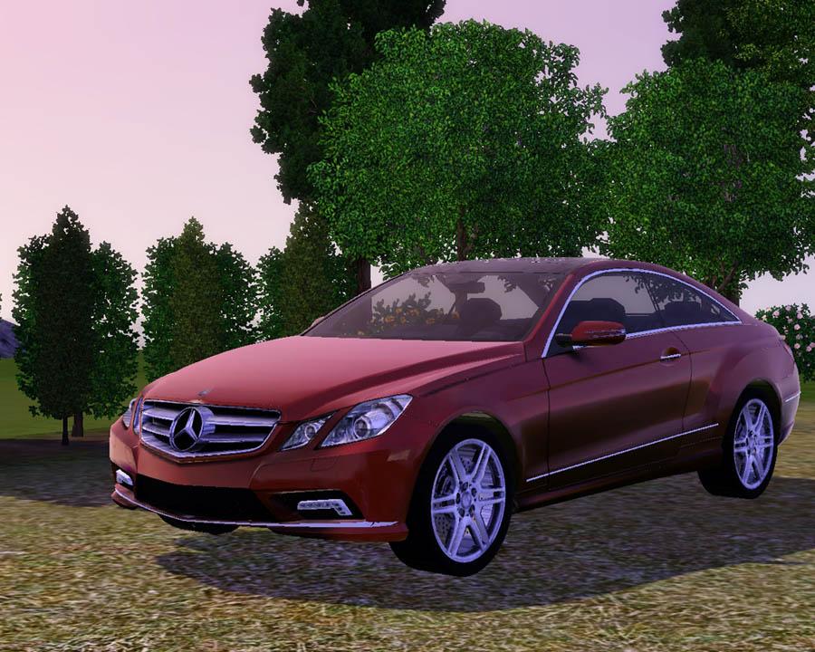 Mod The Sims 2010 Mercedes Benz E550 Coupe