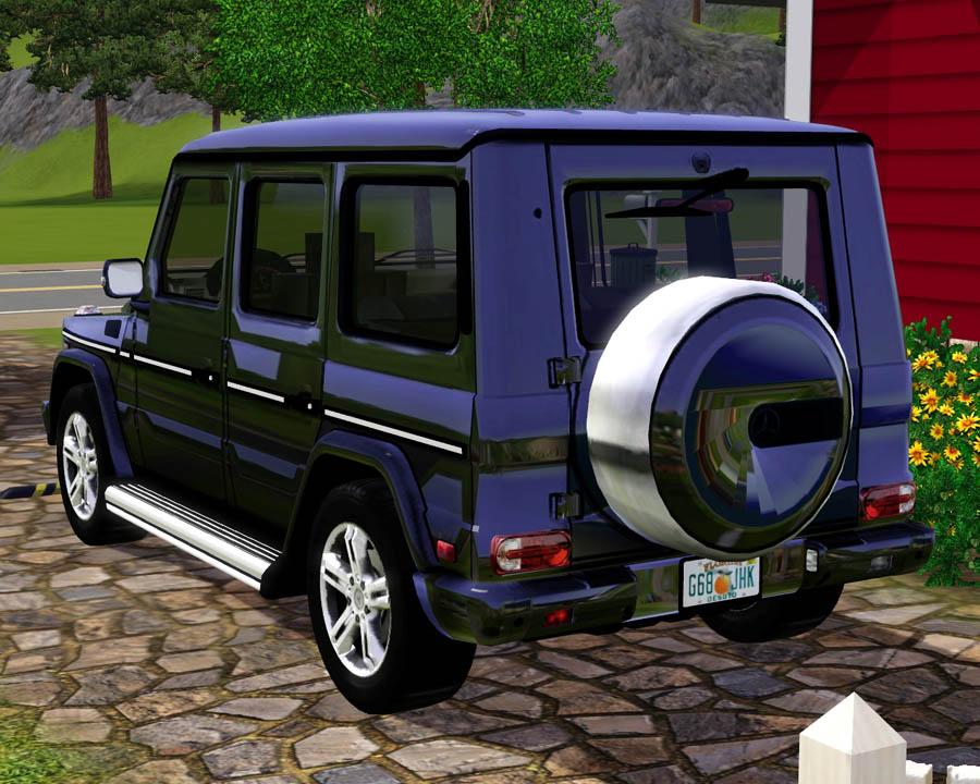 Mod The Sims 2009 Mercedes Benz G550
