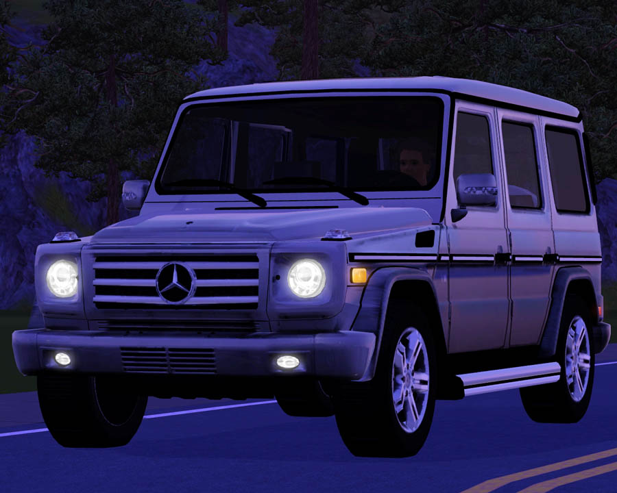 mod the sims 2009 mercedes benz g550. Black Bedroom Furniture Sets. Home Design Ideas